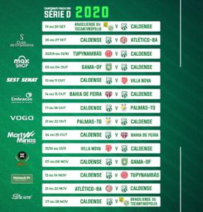 Cbf Divulga Tabela Basica Atualizada Da Serie D 2020 Jornal Mantiqueira